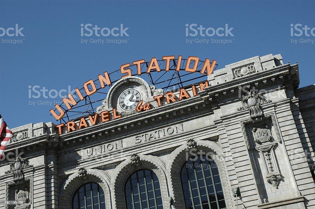 Union Station stock photo