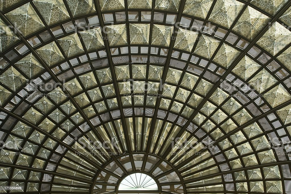 Union Station Skylight - Urban Texture Series royalty-free stock photo