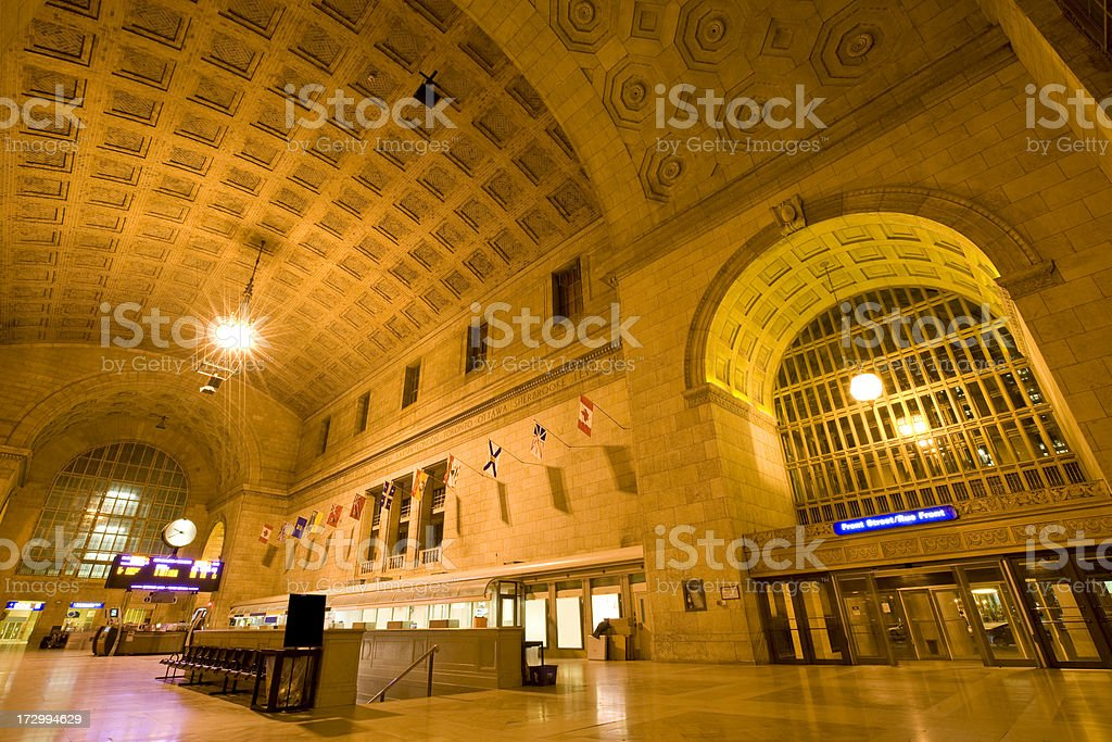 Union Station Toronto stock photo