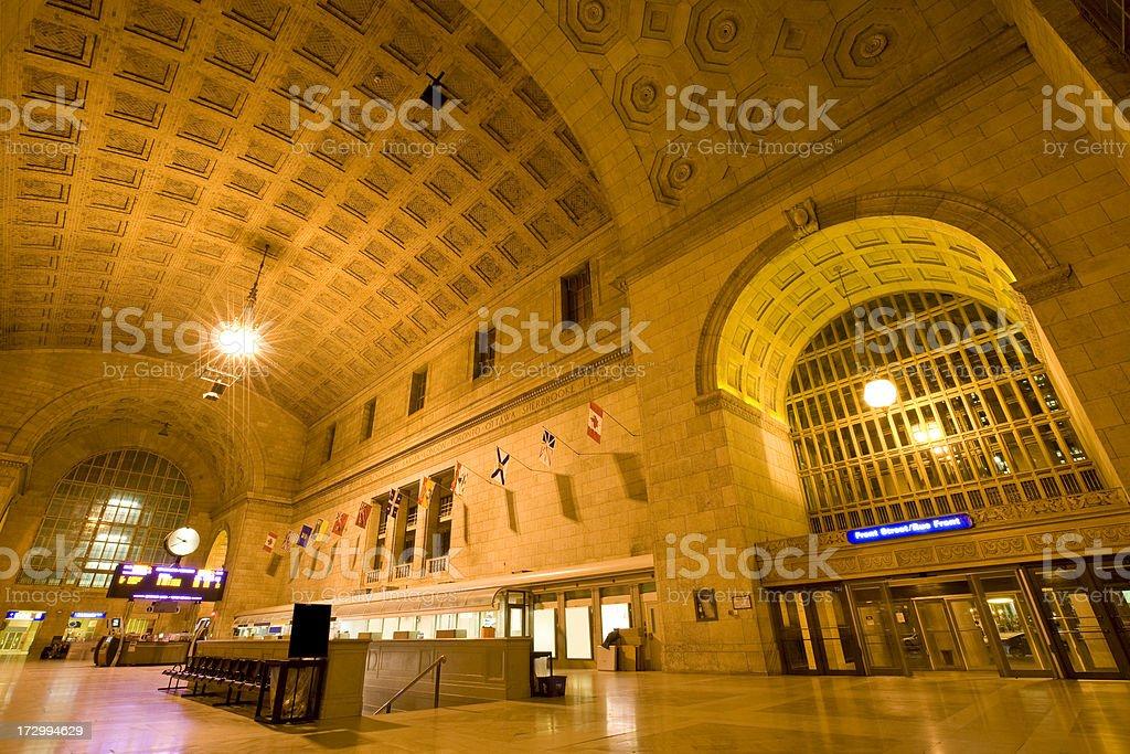 Union Station Toronto stock photo