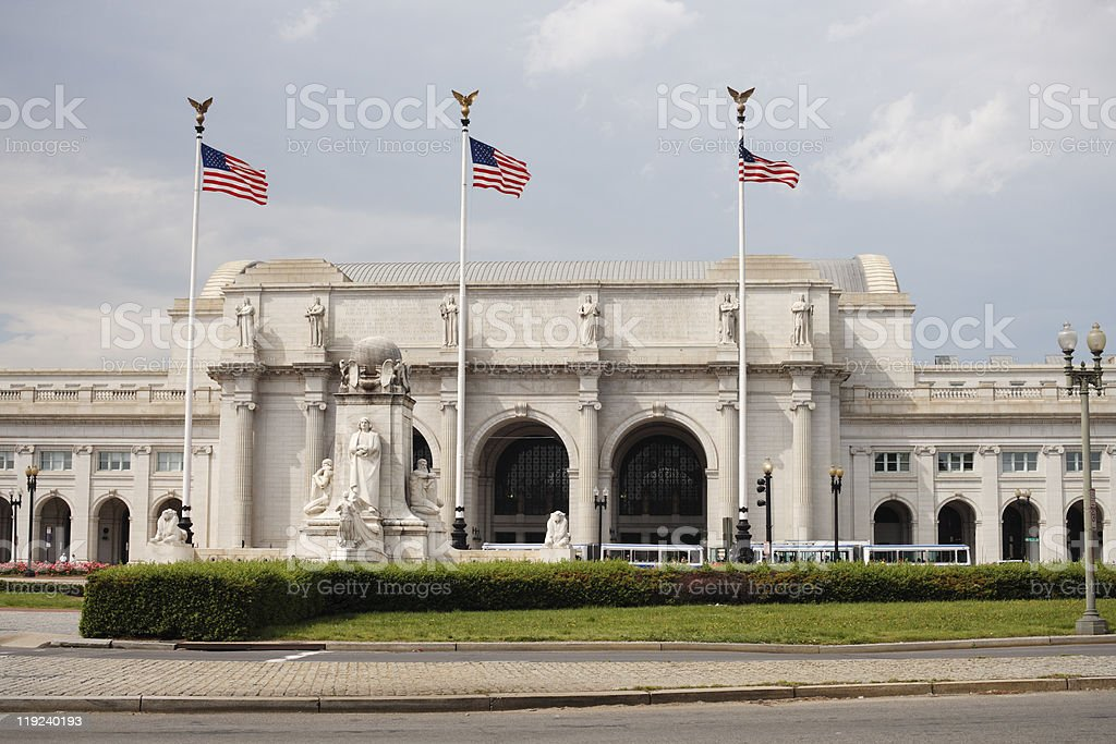 Union Station, Washington DC stock photo