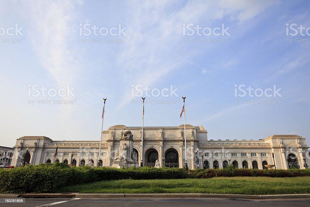 Union Station, Washington D.C. stock photo