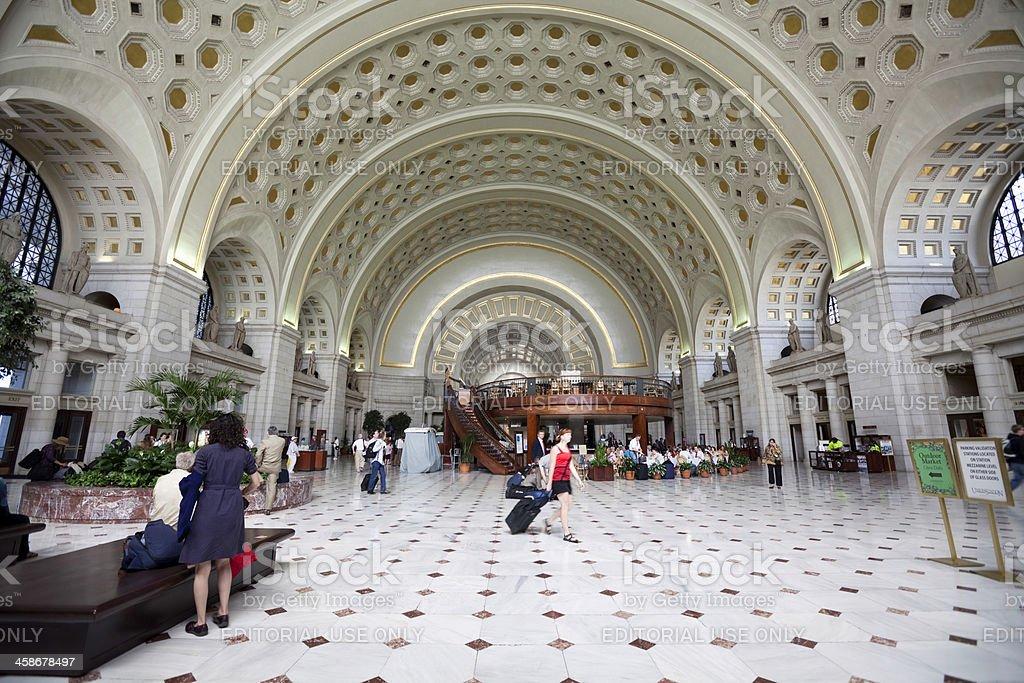 Union Station - Washington DC stock photo