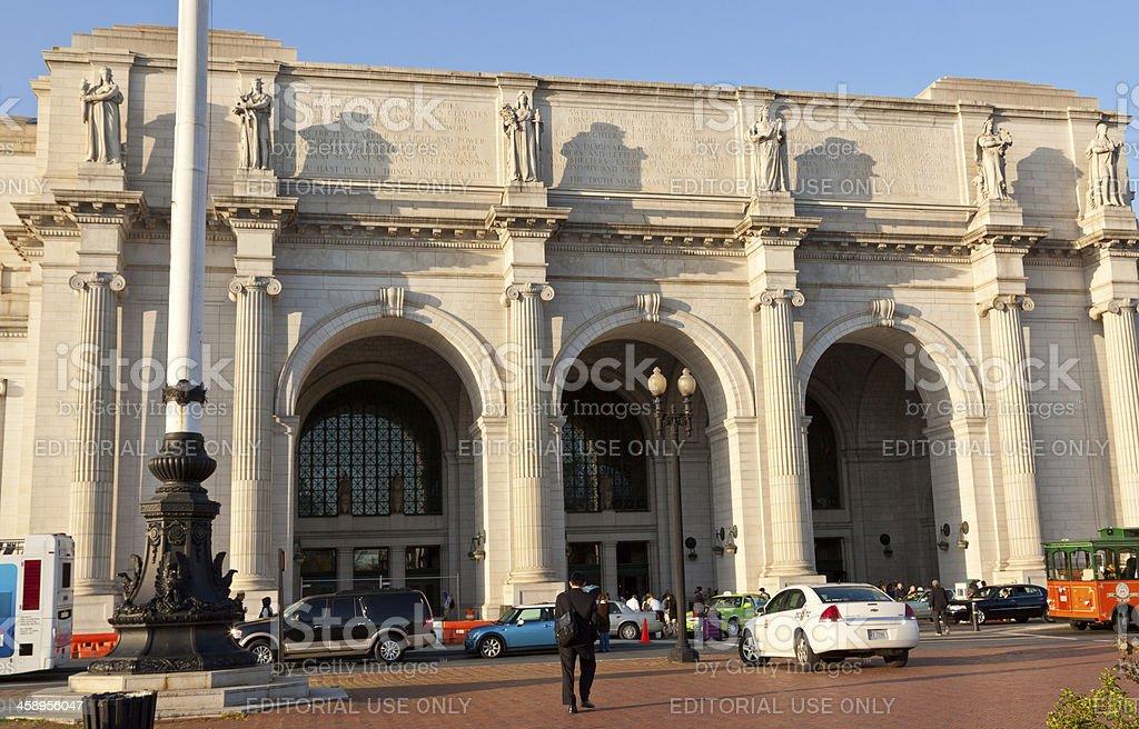 Union Station, Washington DC royalty-free stock photo