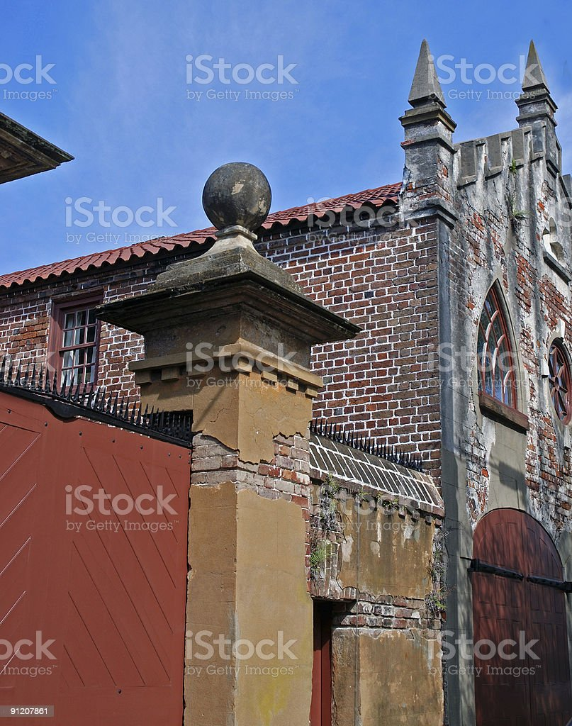 Unique Architecture of Charleston royalty-free stock photo