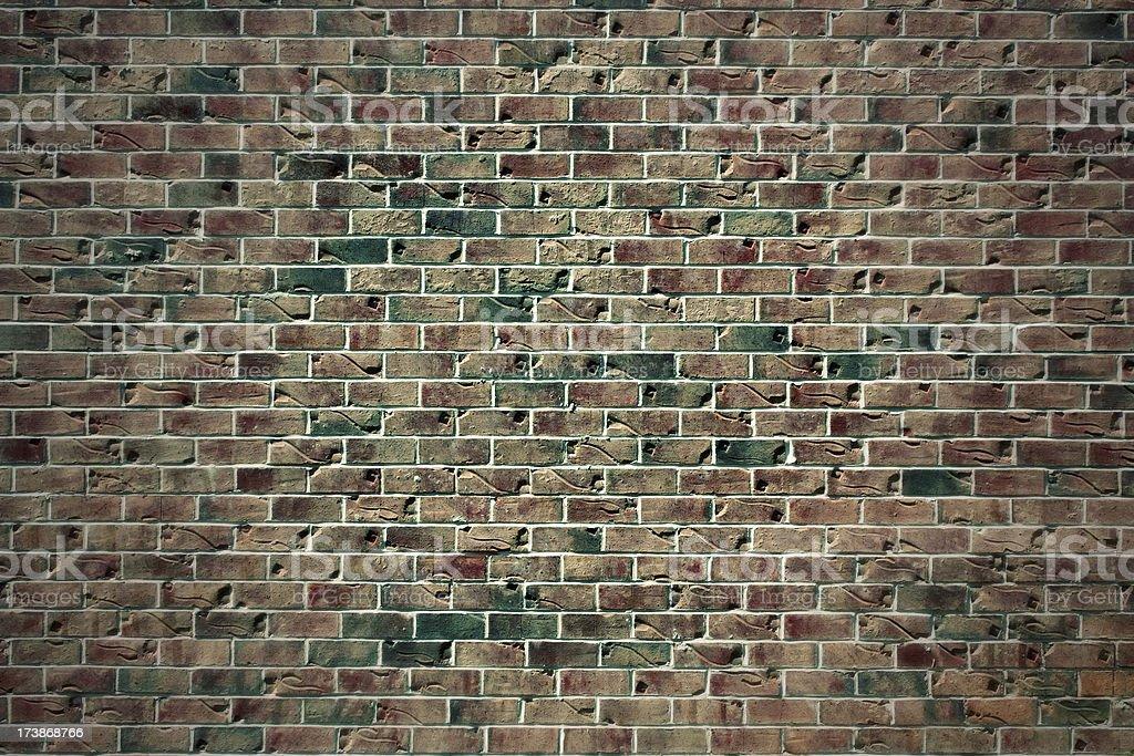 Unique brick background pattern stock photo