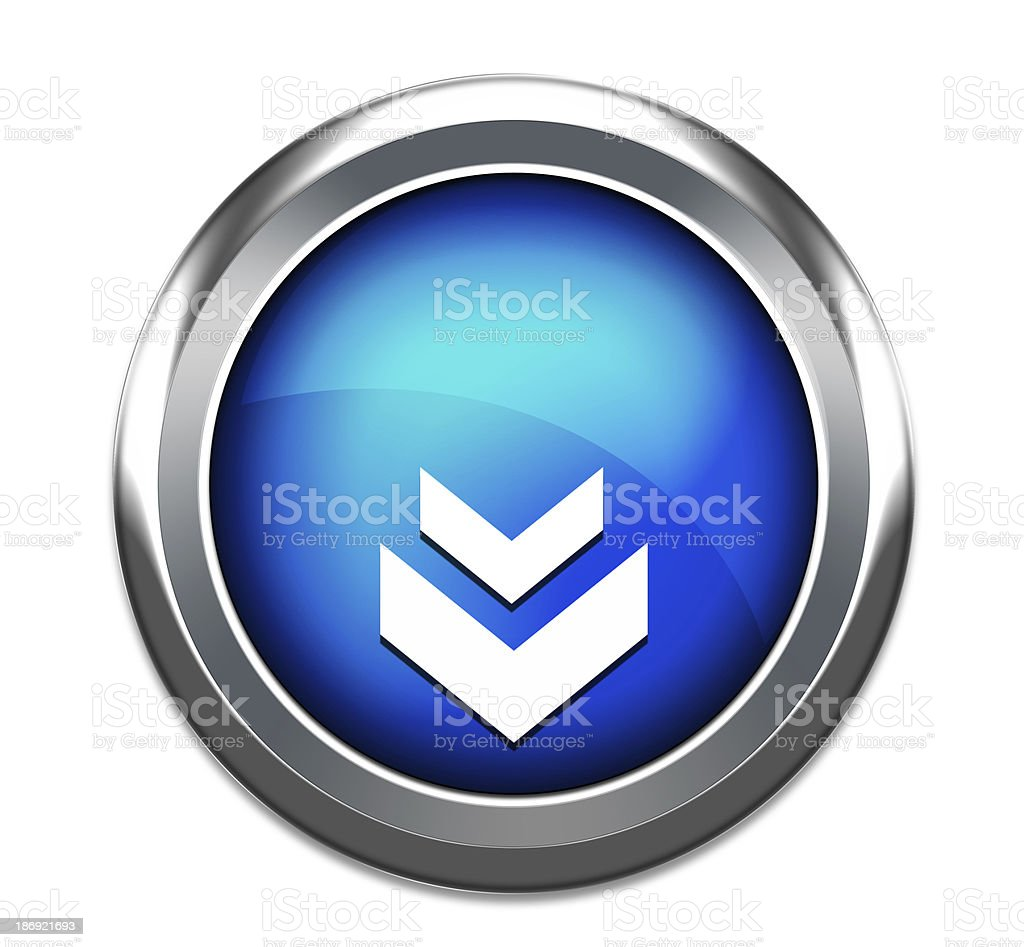 unique download icon stock photo