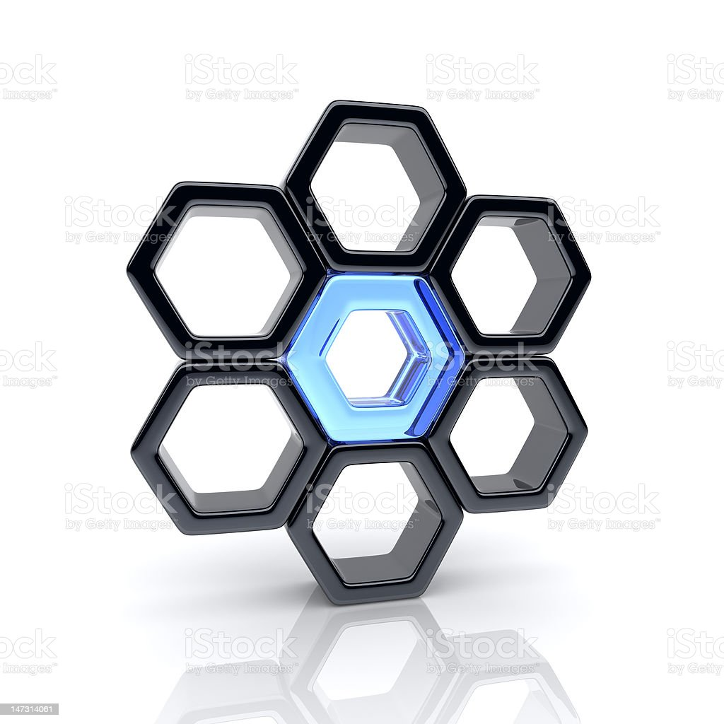 Unique element royalty-free stock photo