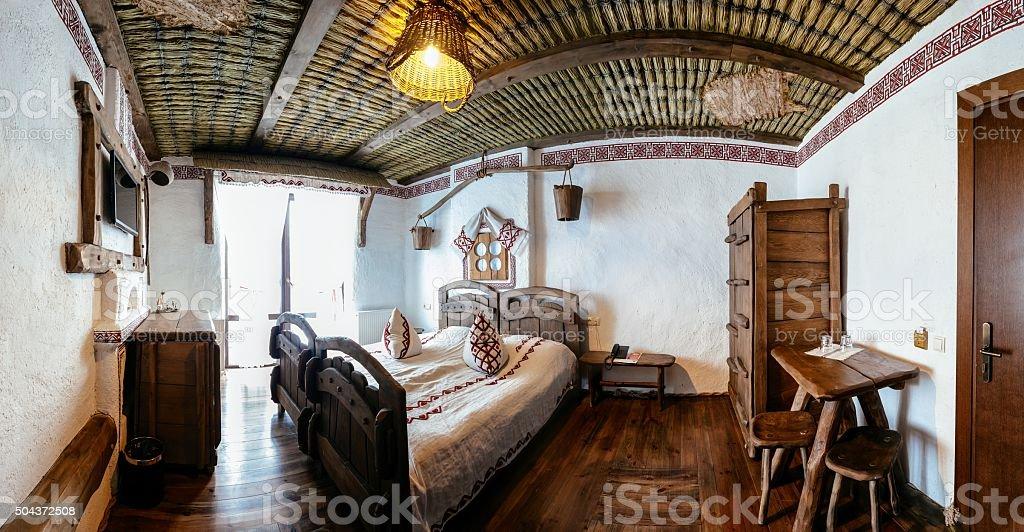 Unique ethnic interior stock photo