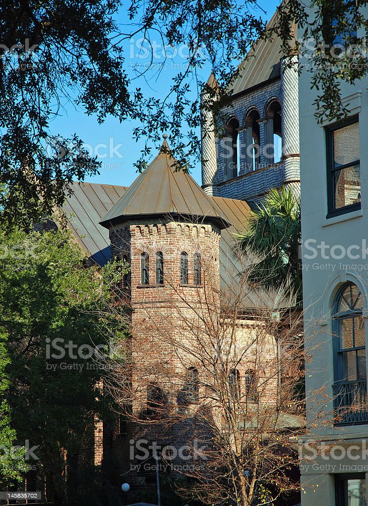 Unique Historic Circular Church royalty-free stock photo