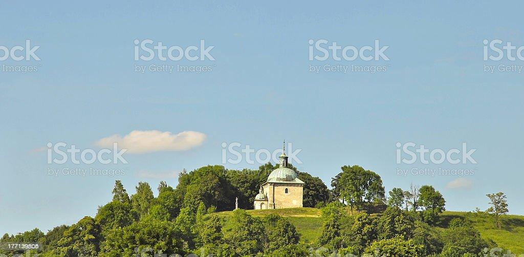 Einzigartige renaissance historischen Kapelle, Polen Lizenzfreies stock-foto