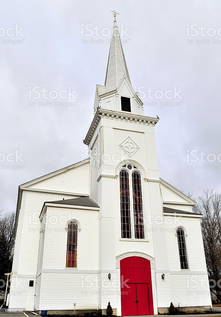 Unitarian Universalist Church stock photo