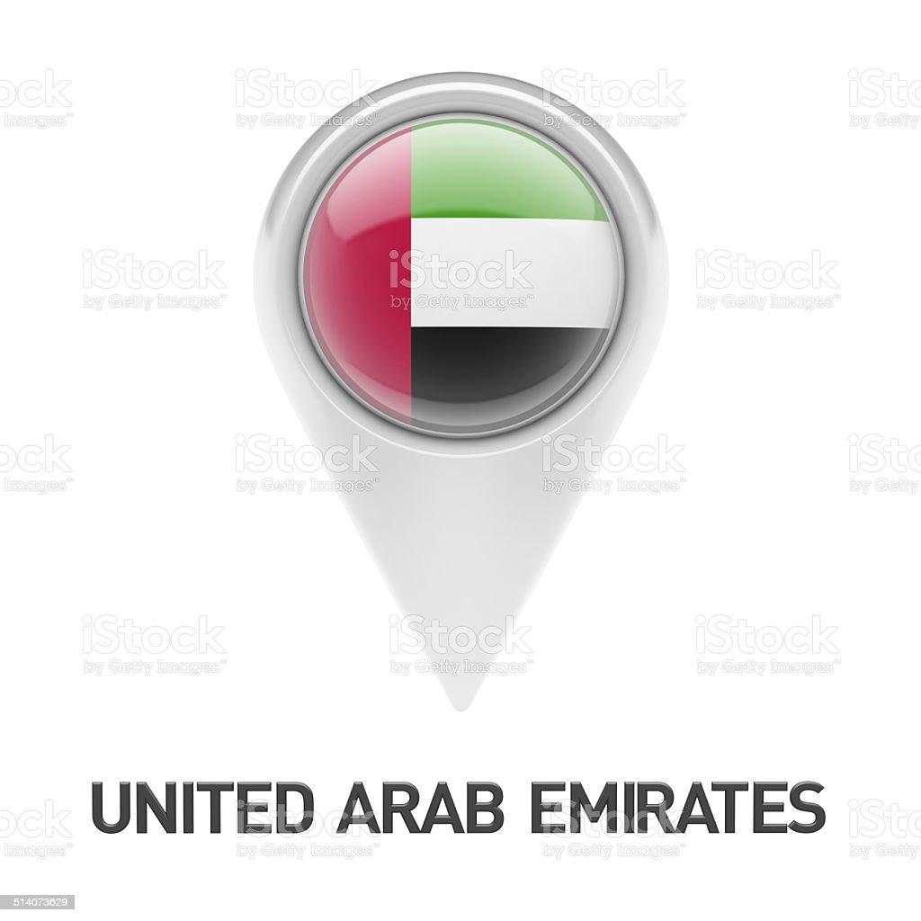 United Arab Emirates Icon stock photo