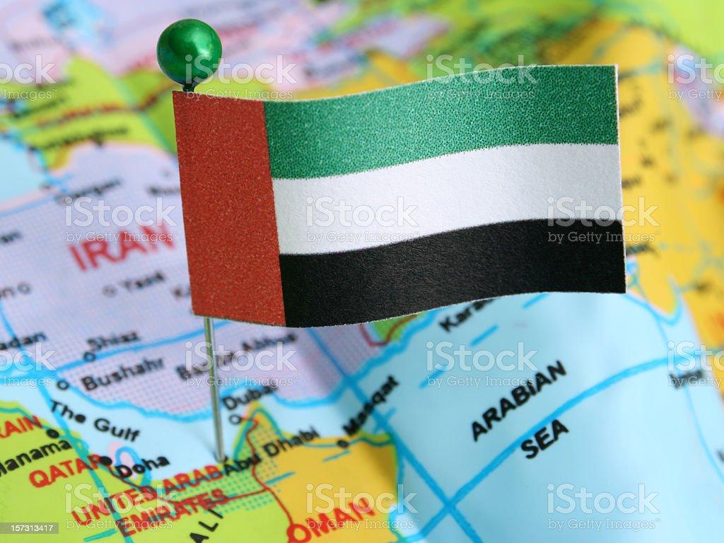 United Arab Emirates royalty-free stock photo