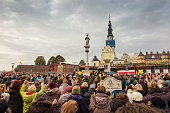 United Atonement, all-day prayer meeting people from all over Polish,