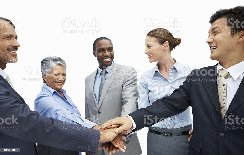 United business team royalty-free stock photo