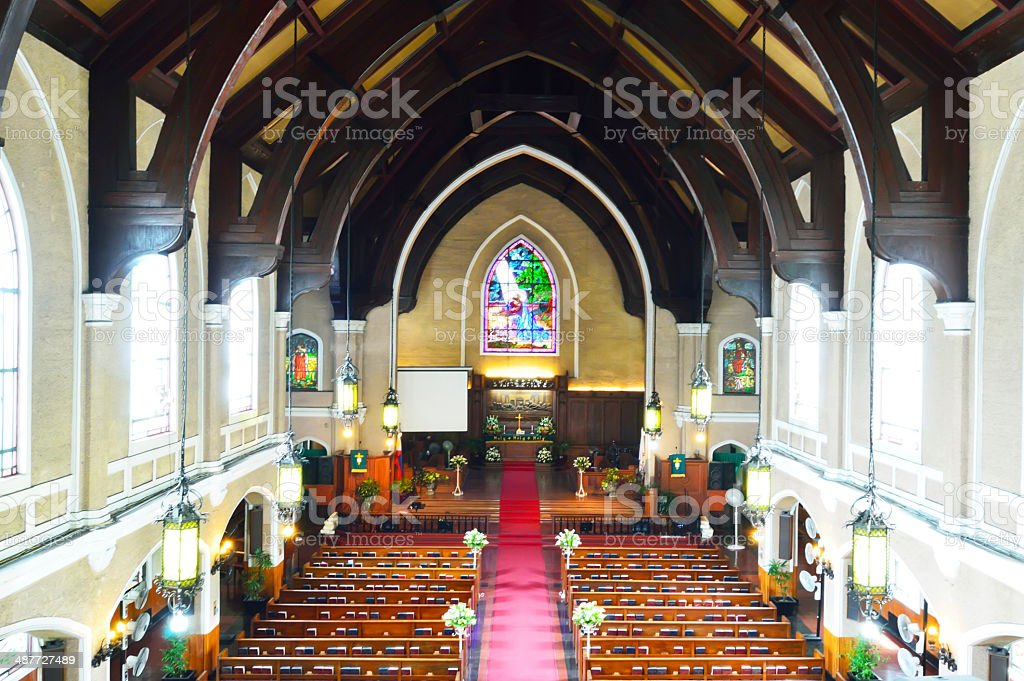 United Church of Christ in the Manila, Philippines stock photo