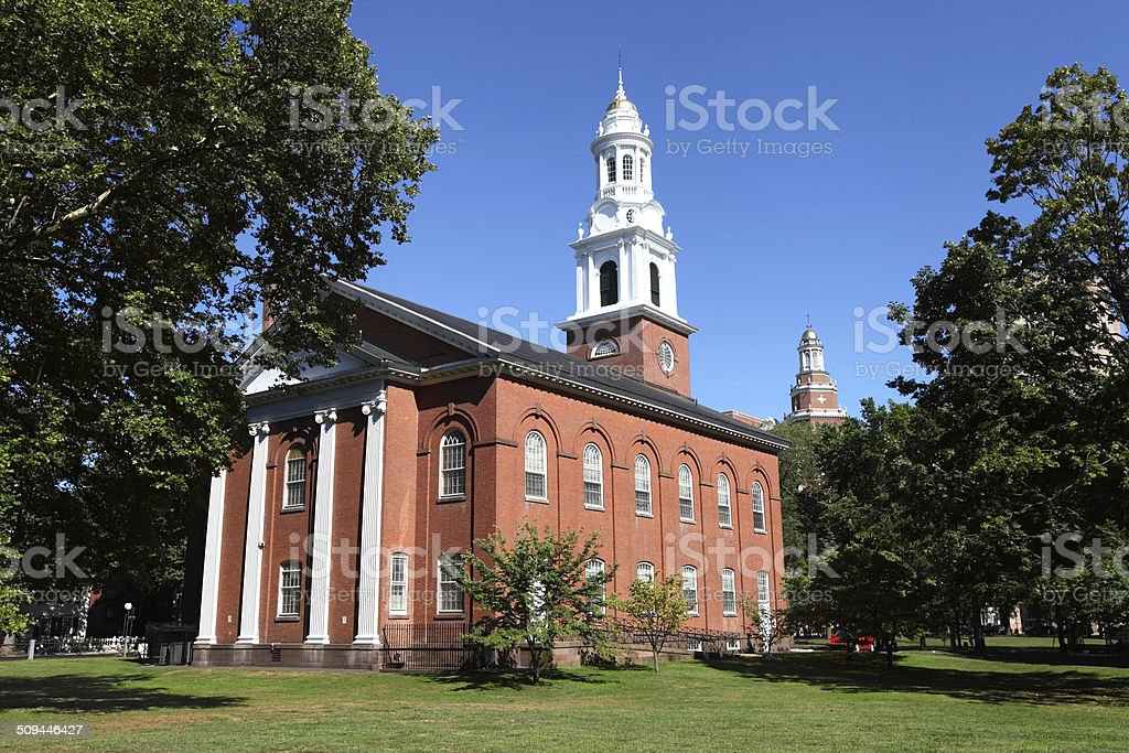 United Church on the Green stock photo