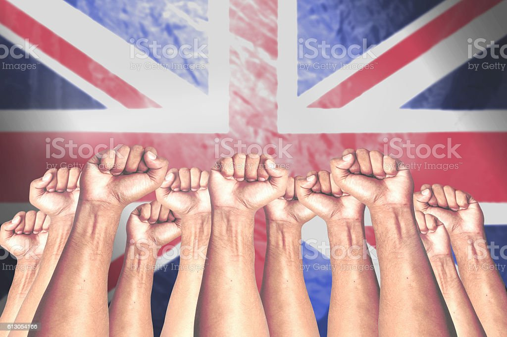 United for Great Britain stock photo