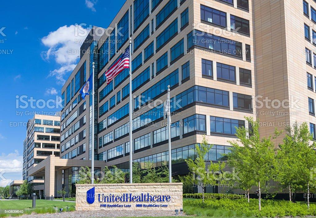 United Health Care Corporate Headquarters Campus stock photo