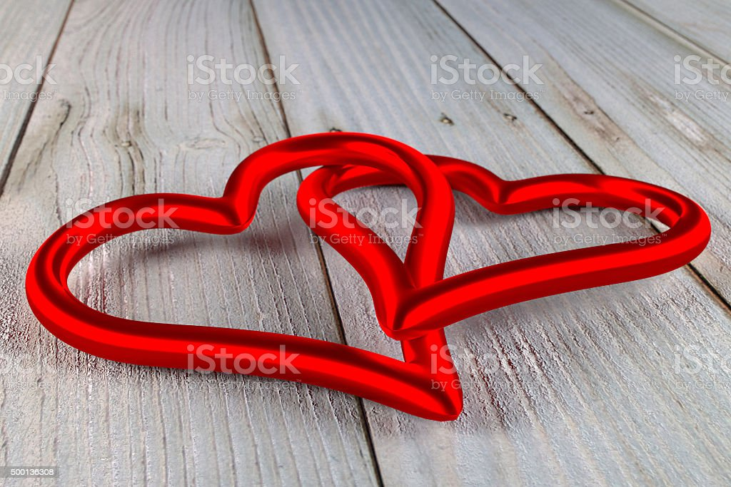 united hearts stock photo