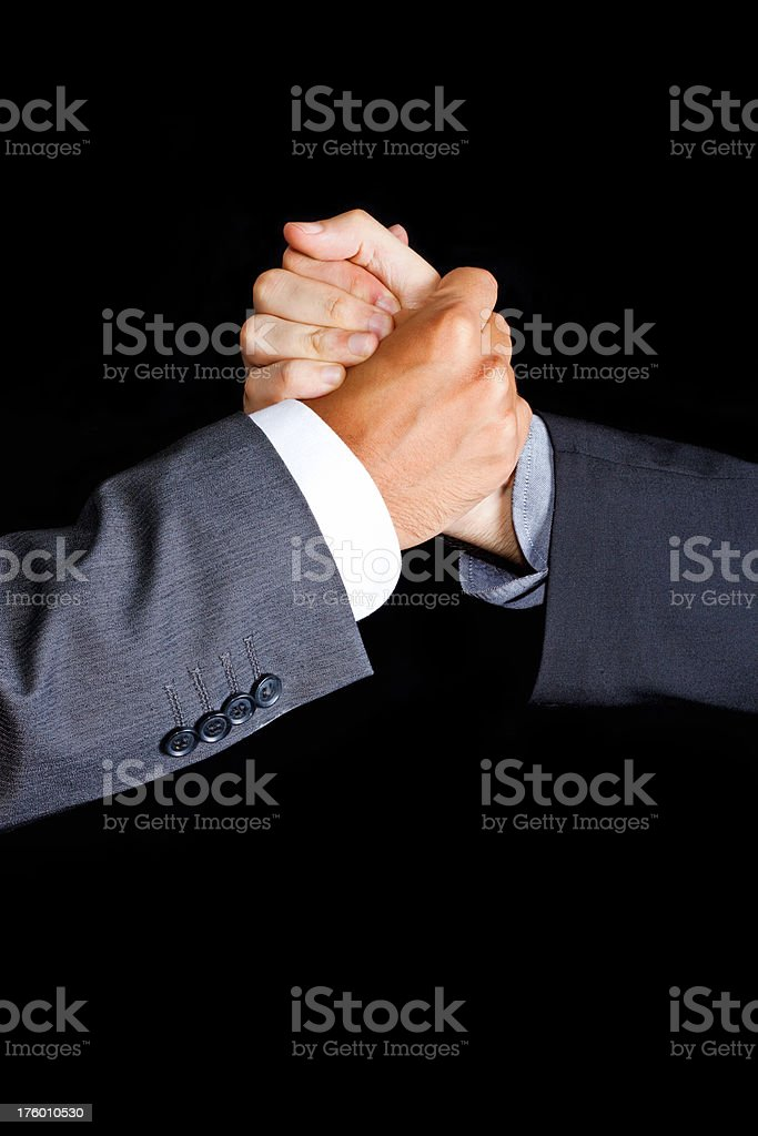 united in business (xxxl) royalty-free stock photo
