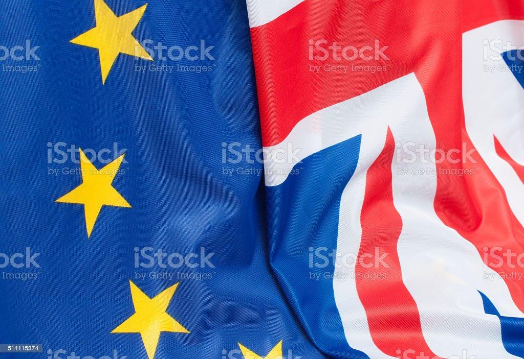 United Kingdom and Europe stock photo