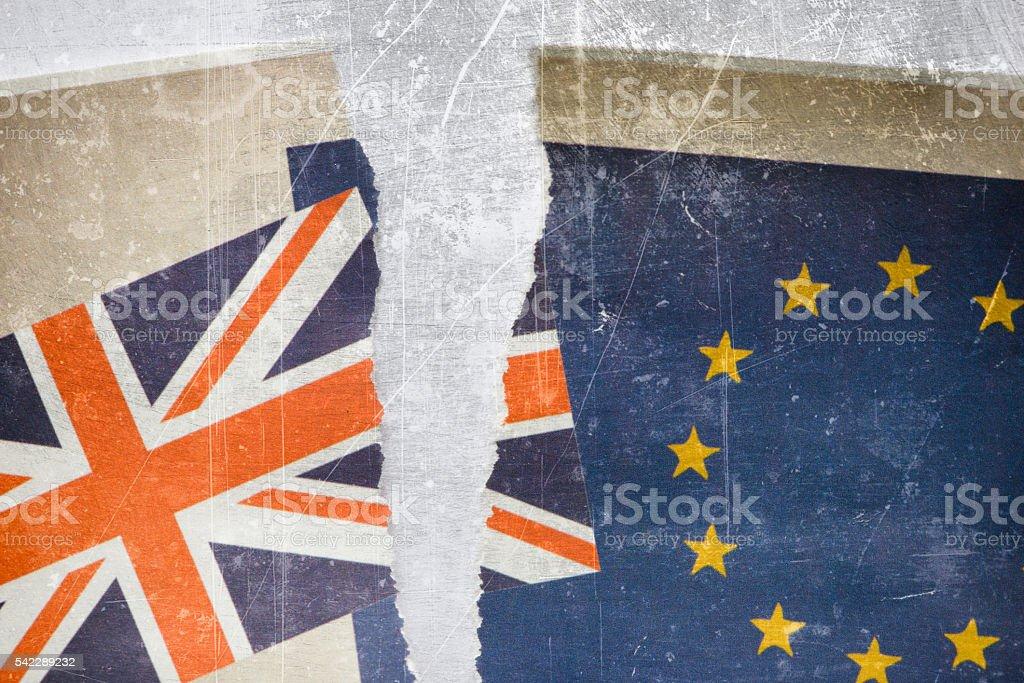 United Kingdom Brexit Concept Image stock photo