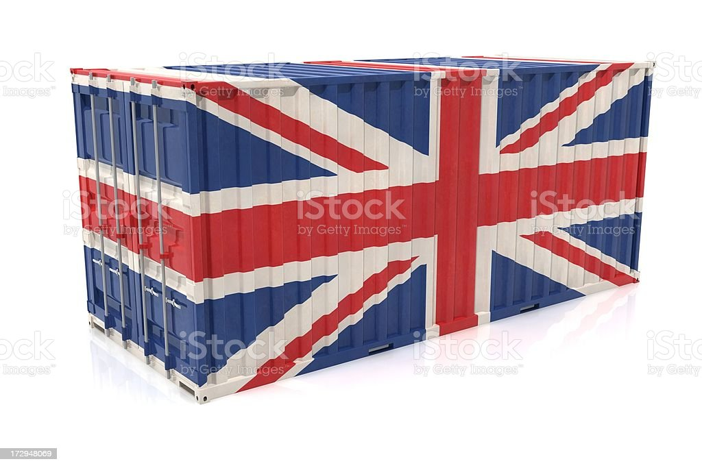 United Kingdom Export royalty-free stock photo
