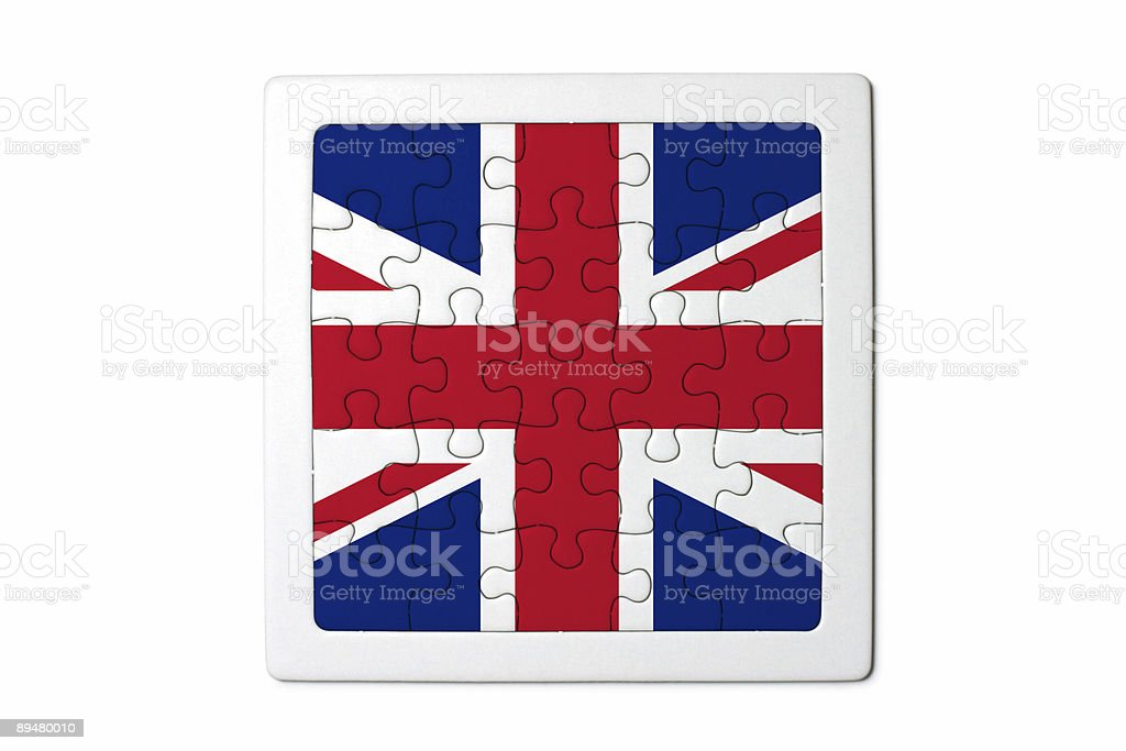 United Kingdom Puzzle royalty-free stock photo