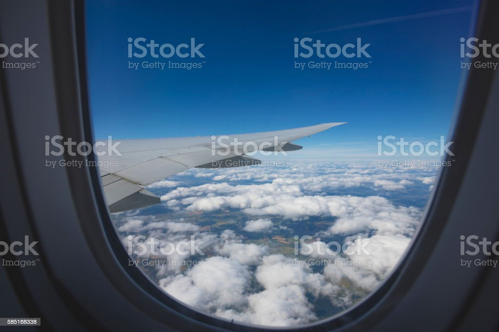United Kingom Aerial View stock photo