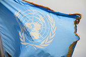United Nations flag, Decorated