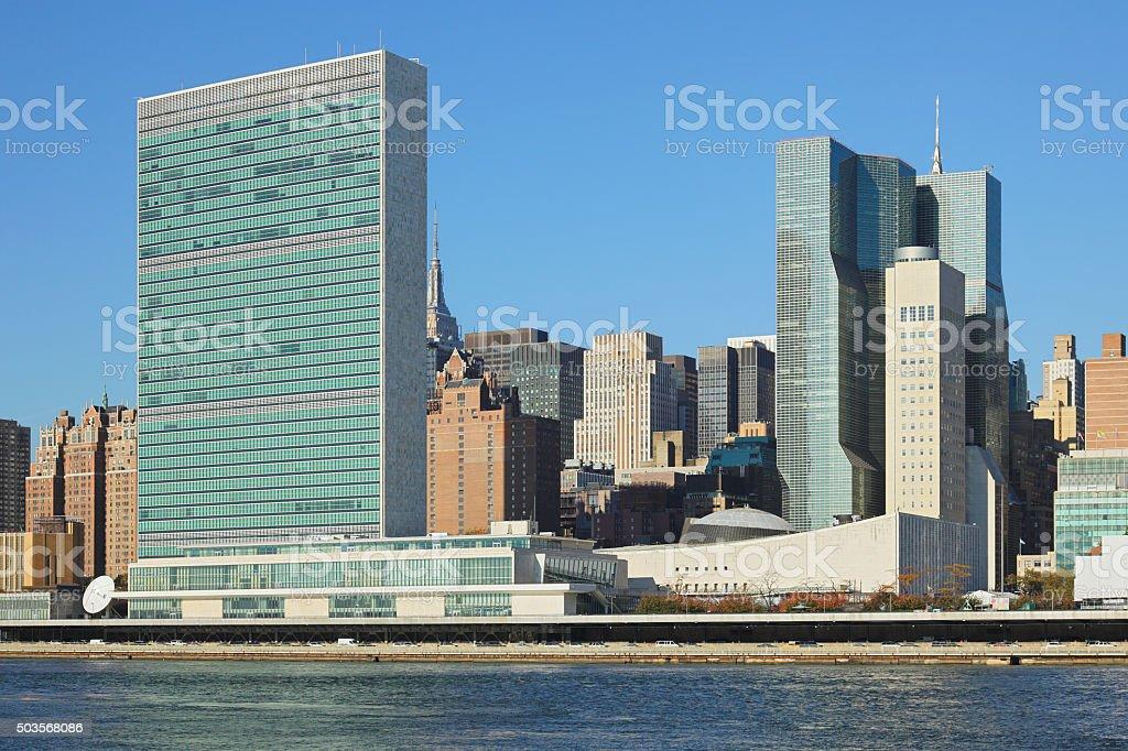 United Nations - New York stock photo