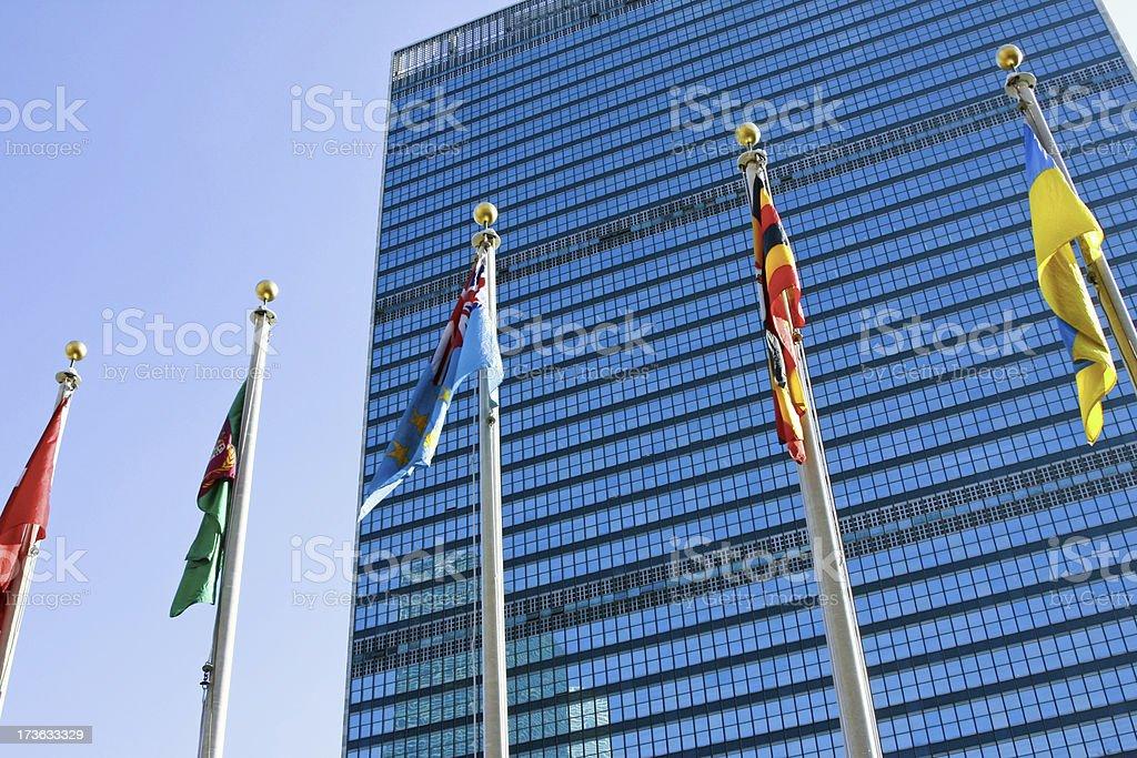 United Nations New York # 4 XL royalty-free stock photo