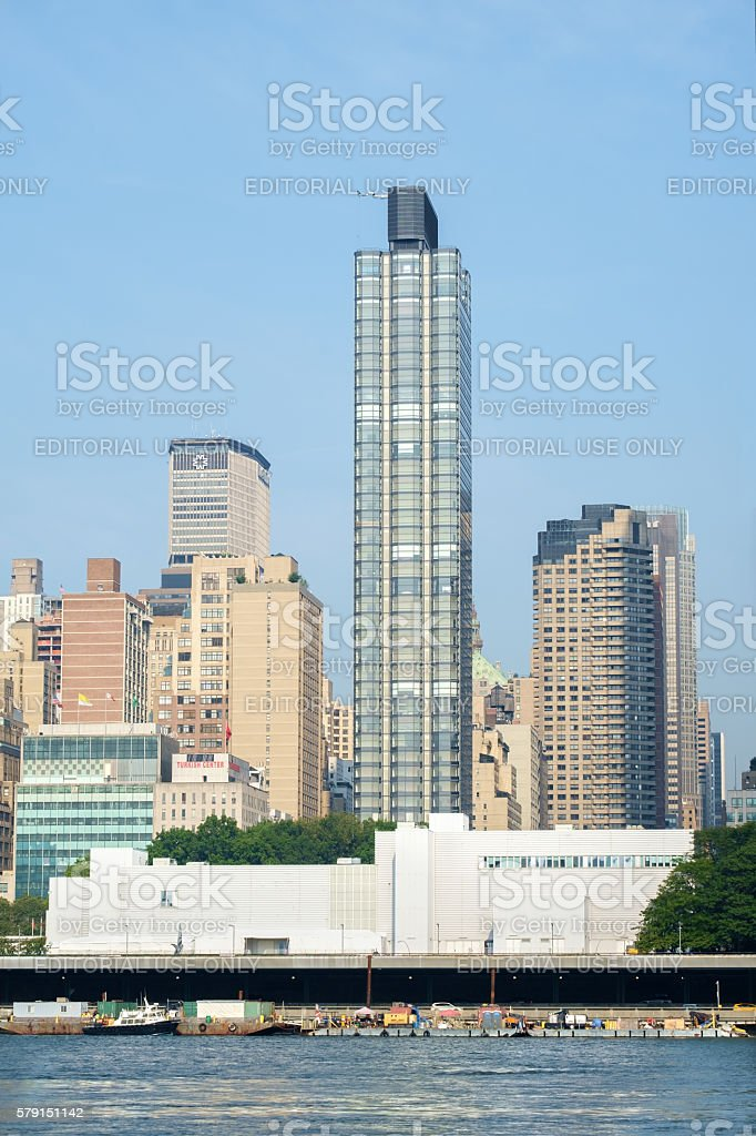 50 United Nations Plaza residential high-rise stock photo