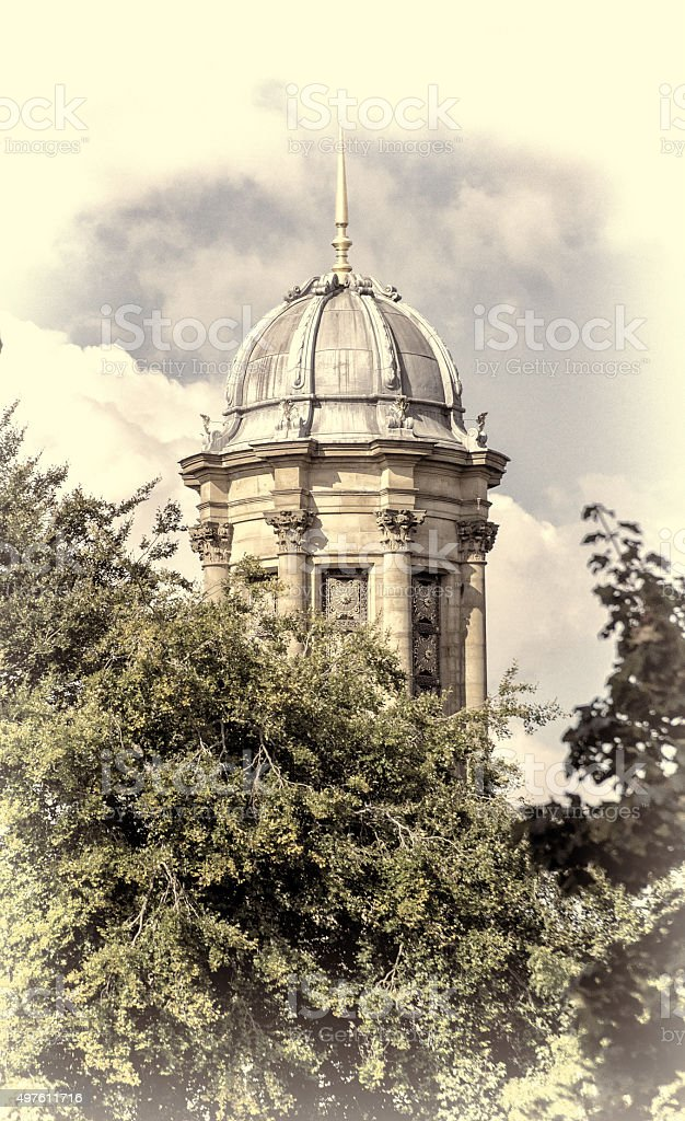 United Reform Church, Saltaire West Yorkshire stock photo