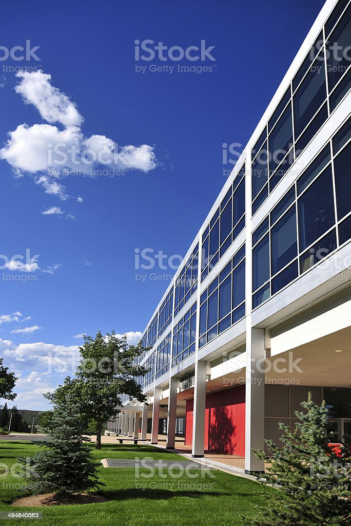 United States Air Force Academy campus, Colorado Springs royalty-free stock photo
