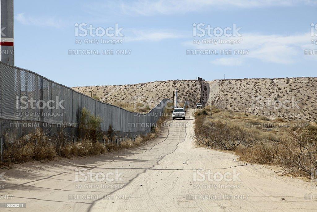 United States Border Patrols stock photo