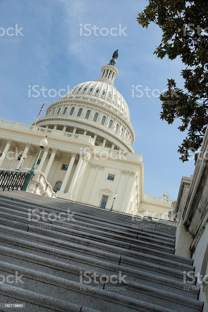 United States Capital Building royalty-free stock photo