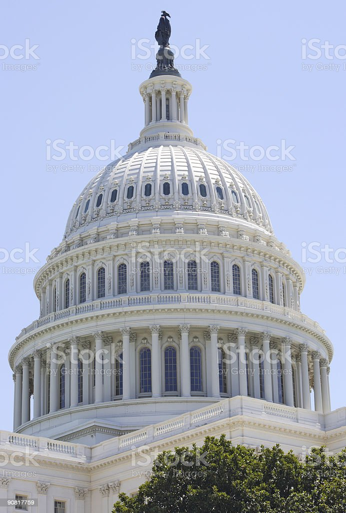 United States Capitol Building Dome royalty-free stock photo