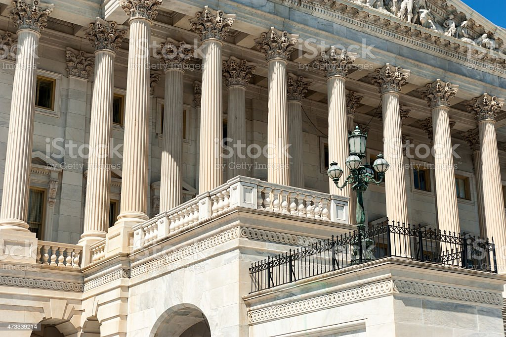 United States Capitol Building, Eastern part stock photo