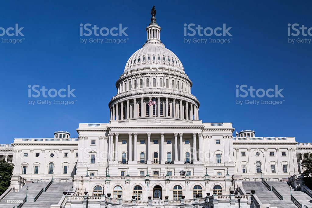 United States Capitol Building stock photo