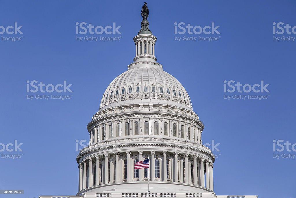 United States Capitol Building Rotunda stock photo