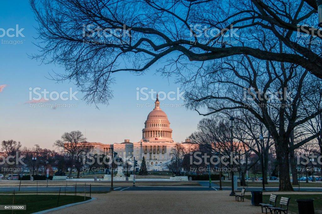 United States Capitol Building - Washington, DC, USA stock photo