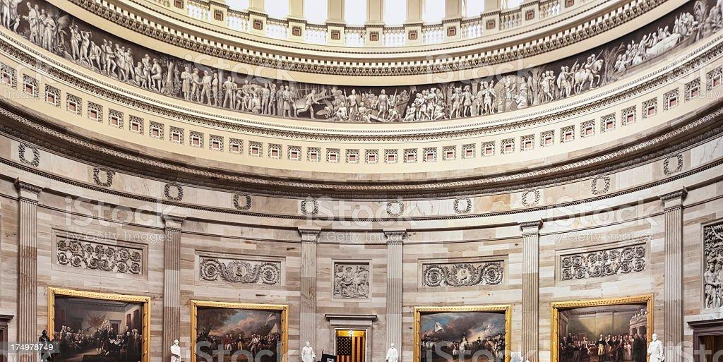 United States Capitol Dome stock photo