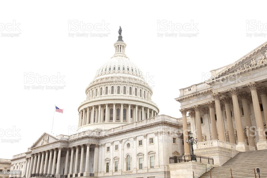 United States Capitol NEW stock photo