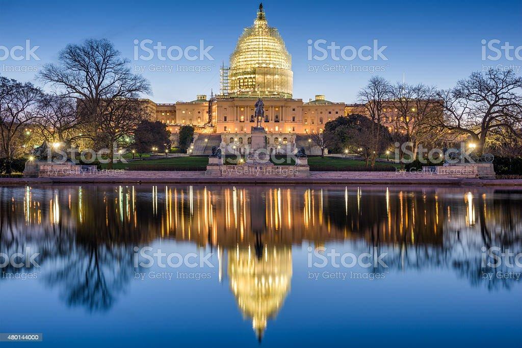 United States Capitol stock photo