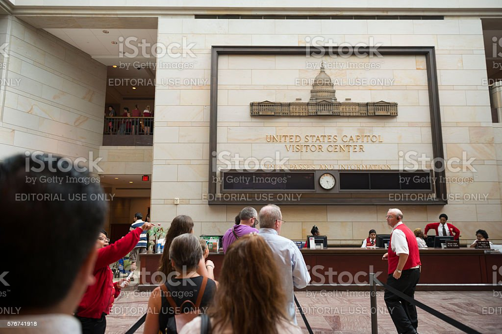 United States Capitol Visitor Center stock photo