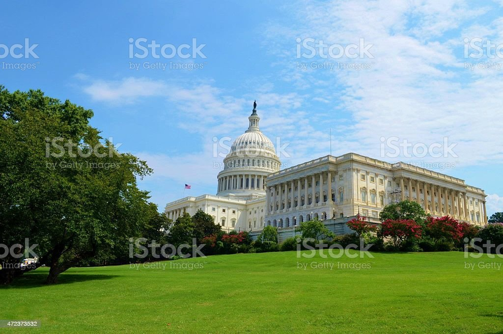 United States Congress stock photo