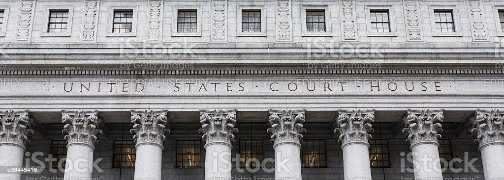 United States Court House stock photo